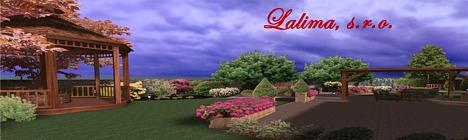 Lalima.sk - projekčné a realizačné práce v oblasti záhradníctva